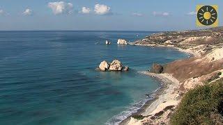 "ZYPERN - Südküste Teil 1 ""Paphos - Halbinsel Akamas - Felsen der Aphrodite"" CYPRUS"