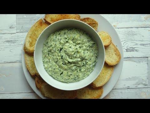 Spinach Artichoke Dip no mayo - Easy party recipe - party snacks diy - prepare a day before