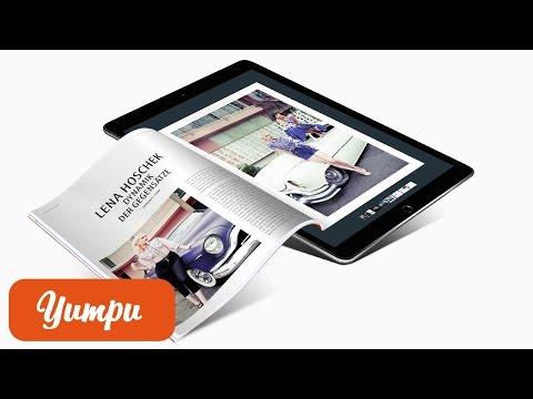 App für online Flipbooks und online Magazine - iOS und Android
