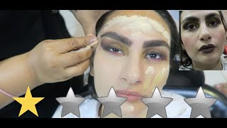 I WENT TO THE WORST REVIEWED MAKEUP ARTIST IN DUBAI !