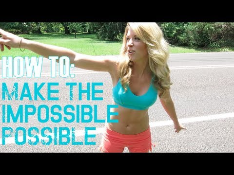 How To Make The Impossible Possible - Steph Hendel FitBody+HealthyGlow Kick Start Monday
