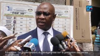 Education   Le gouvernement du Sénégal mise sur la promotion des séries  scientifiques