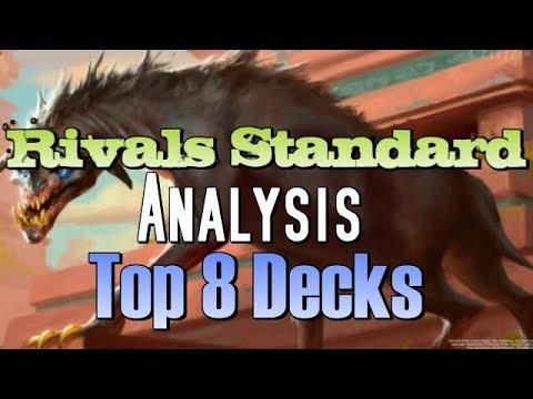 Mtg: Top 8 Decks in Rivals of Ixalan Standard!