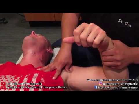 ACTIVE RELEASE MASSAGE on a Patient with Bad Shoulder Pain and Knots