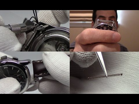 How to Change a Watch Strap and Spring Bar Basics - Watch and Learn #9