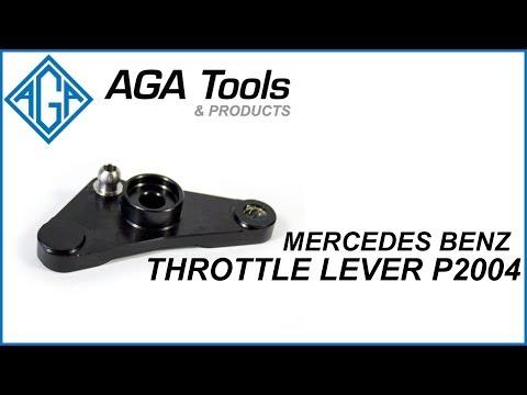 Mercedes Benz Throttle Lever P2004