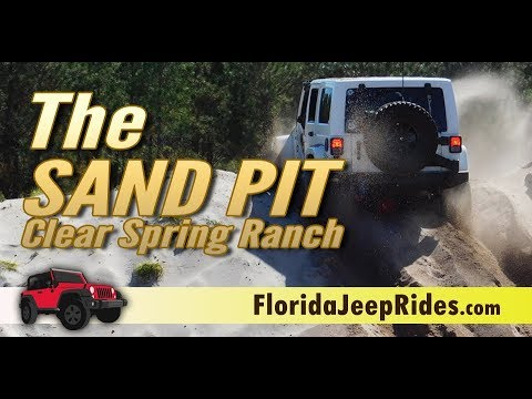 The Sand Pit - Orlando Jeep Club is getting ready for Jeepin with Judd 2019 SandBox