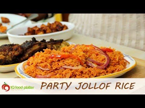 Party Jollof Rice | 1QFoodplatter