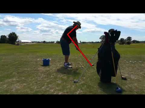 Create a wide long smooth back swing.