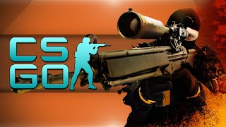 Counter Strike Global Offensive! - The Flame Game, Vanishing Act, No-Scopes! (CSGO Funny Moments)