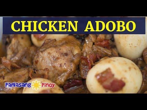 Bacon and Egg Filipino Chicken Adobo   Pinoy Chicken Adobo   Adobong Manok