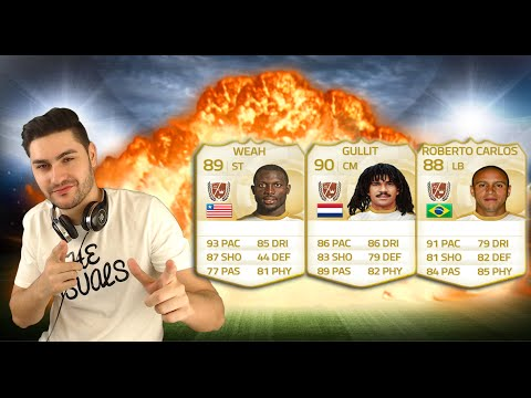 FIFA 15 LEGENDS SQUAD BUILDER / ULTIMATE TEAM - Play Like A LEGEND / HOW TO GET EASY WINS