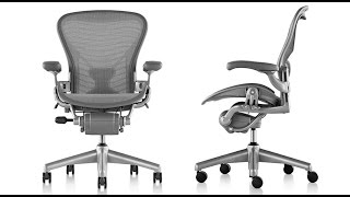 How a Herman Miller Aeron Chair is made - BrandmadeTV