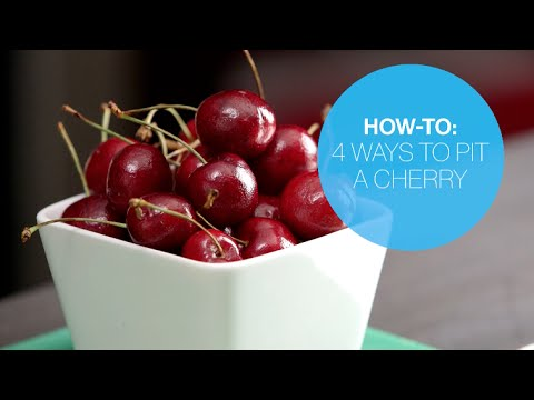 How to pit a cherry four ways | Canadian Living