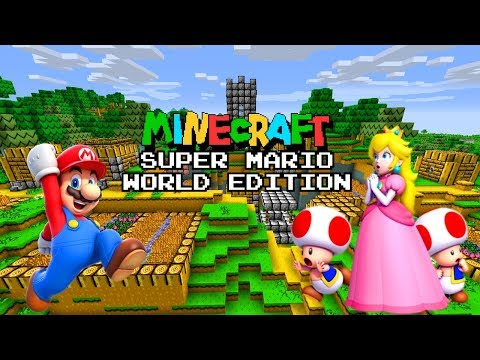 Super Mario World Edition Pack for Minecraft Bedrock Edition 1.2.14.3 !!!