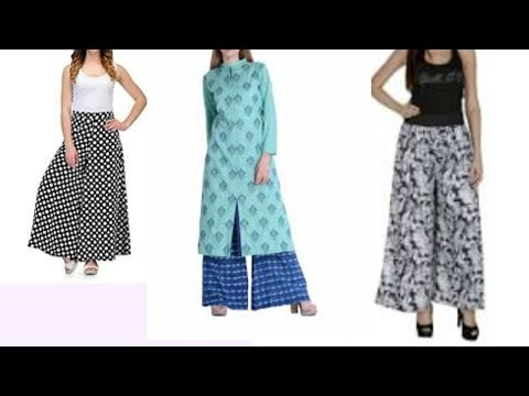 Make Simple Comfy Palazzo Pants for casual dress : Cutting & Stitching Step by Step latest tutorial