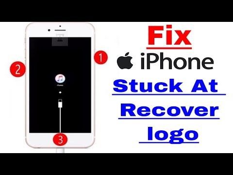 iPhone Stuck At Recover Mode Fix Without Reset Any Data