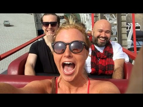 Vlog 28- Back in New York! Coney Island & Times Square