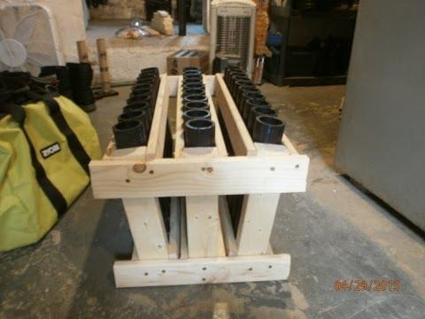 30 Shot Fan Mortar Rack