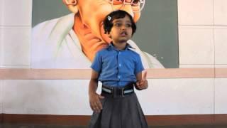 Speech by an LKG kid