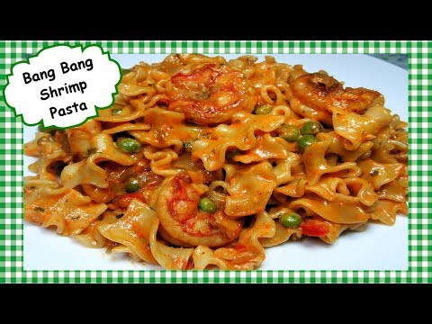 Bang Bang Shrimp Pasta Recipe ~ How to Make Easy Bang Bang Shrimp or Chicken