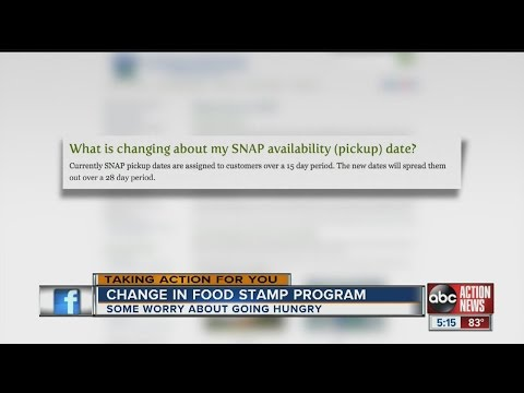 Changes in Food Stamp program