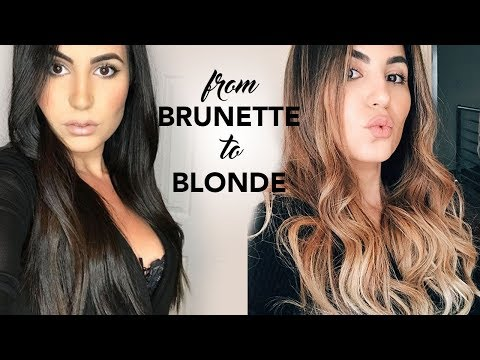 Balayage Painted Hair Transformation: BEFORE & AFTER | Elle Levi