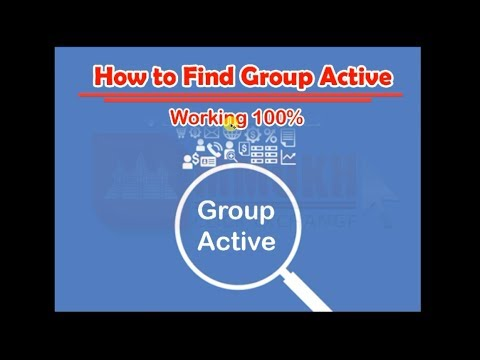 How to Find Facebook Group Active That can get more visitor after post anything