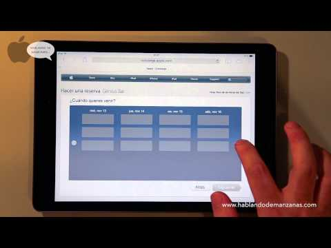 Aprende a crear una cita en Genius Bar de Apple Servicio Técnico