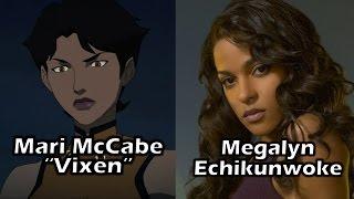 Characters and Voice Actors - Vixen