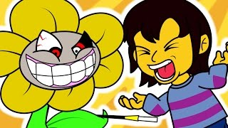 If Undertale had a Flirting Route (Funny Animation)