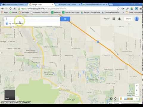 Setting up your google maps map