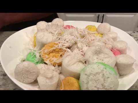 Khmer Food: Steamed Rice Cake
