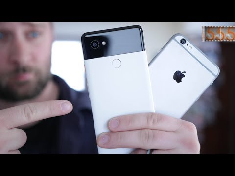 Why I Switched to the Google Pixel 2 XL after 10 Years of iPhone in 2018 by 555 Gear