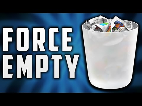 How to Force Empty the Trash on Mac 2016! Remove Stuck Files!