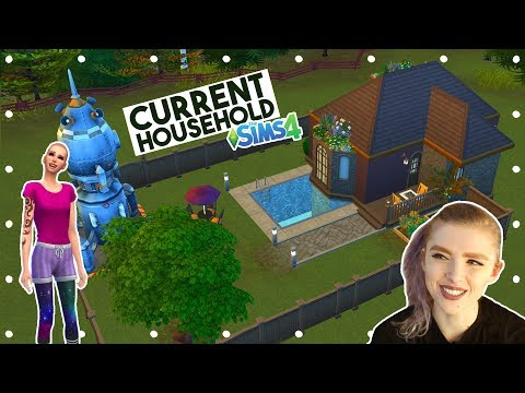 Sims 4 Current Household * March 2018