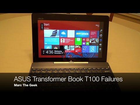 Asus Transformer Book T100 Failures