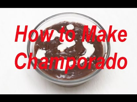 How to Make Champorado  / Champurrado (Mexican Hot Chocolate)