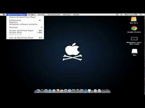 Como activar la verción PRO de QuickTime 7.7 para Mac gratis