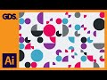 Patterns in Adobe Illustrator Ep5/15 [Multimedia design course - Print]