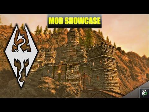 CASTLE STONESPIRE!!- Xbox Modded Skyrim Mod Showcase