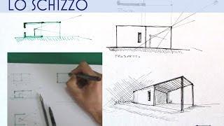 tutorial di architettura, dalla linea al rendering : LO SCHIZZO