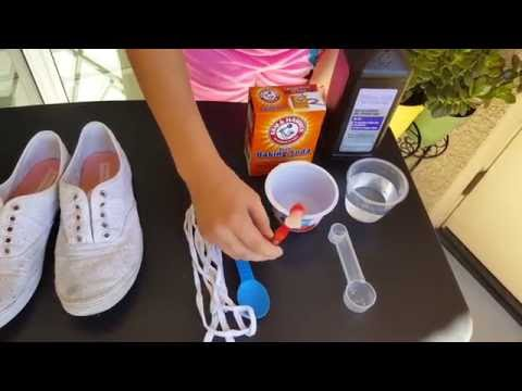 simple way to clean your shoes