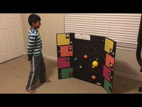 Solar system project ( tri fold )