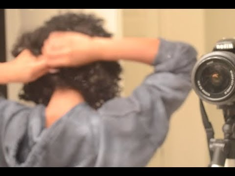 How i took out/put in curly hair extensions