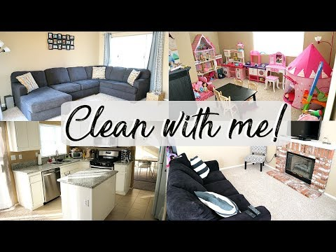 Clean with me! : downstairs cleaning routine