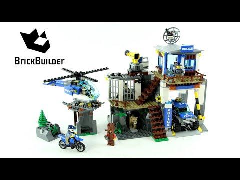 Lego City 60174 Mountain Police Headquarters - Lego Speed Build