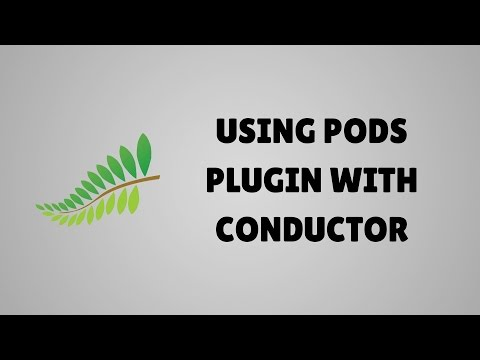 Display Pods custom fields and custom post types with Conductor