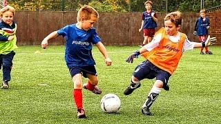 KIDS IN FOOTBALL ● FUNNY FAILS, SKILLS, GOOALS