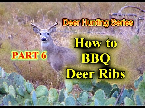 How to BBQ Deer Ribs that are juicy and falling off the bones